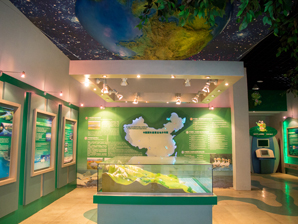 长广溪湿地科普馆设计施工-无锡展馆展厅空间设计制作