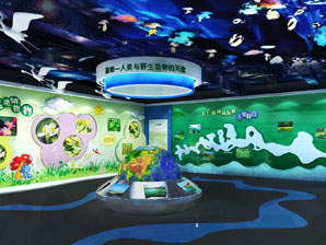 长广溪湿地体验中心展厅设计-无锡主题展示馆设计装修