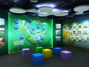 长广溪湿地体验中心展厅设计-无锡科技馆设计装修