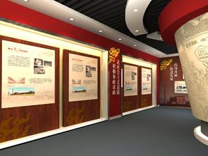 唐君远纪念馆展厅设计施工-无锡历史陈列馆策划设计装修